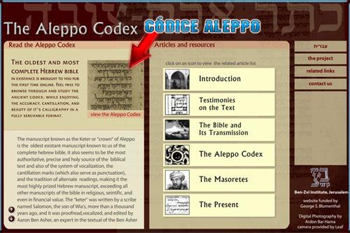 Códice Aleppo