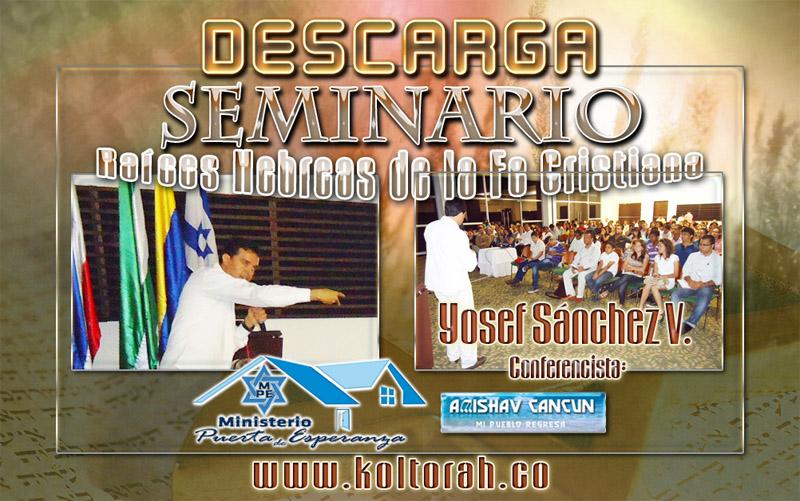 Descarga Seminario Raíces Hebreas