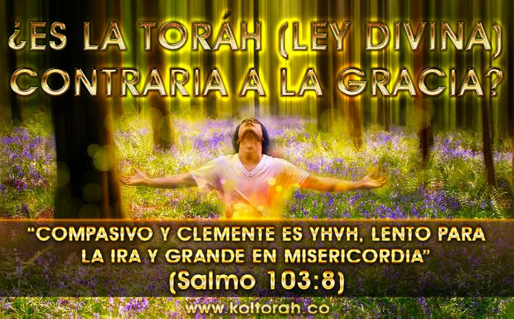 ¿Es la Toráh (Ley divina) contraria a la Gracia? Por Kenner Ospino M.
