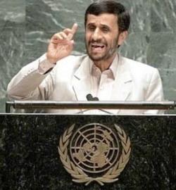 Ahmadinejad en Naciones Unidas