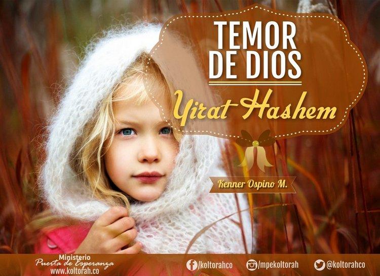 El Temor de Dios (Yirat Hashem) – Kenner Ospino M.
