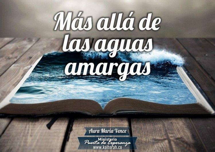 Más allá de las aguas amargas – Aura María Vence