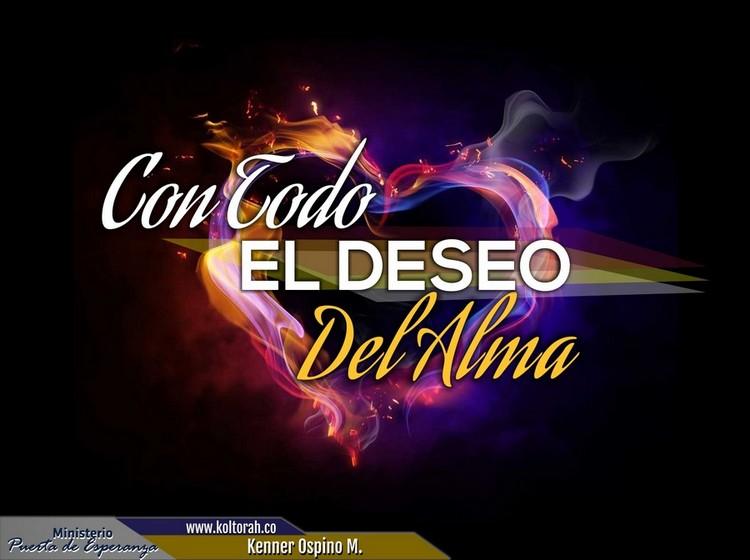 Con Todo El Deseo del Alma – Kenner Ospino M.