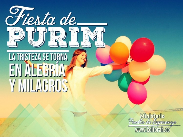 La Fiesta de Purim (Preparémonos para exaltar al Eterno por sus obras) – Kenner Ospino M.
