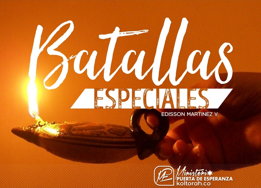 Batallas Especiales – Edisson Matinez V.