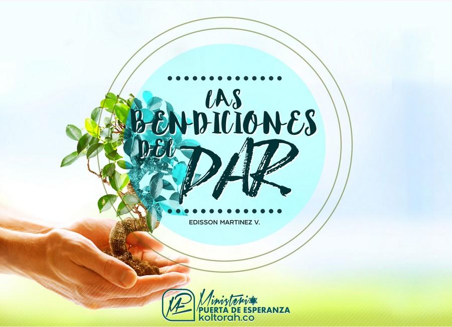 Las Bendiciones del Dar – Edisson Martinez V.