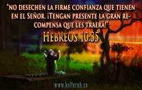 Hebreos 10:35