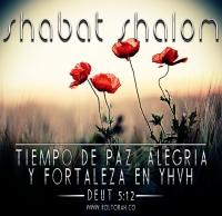 Shabat Shalom - Deut5:12