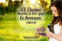 Shabat Honra al Eterno