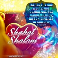 Shabat Shalom - Amor a Dios