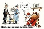 Papá Noel en el lugar equivocado