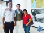 Juan Carlos, Yosef y Aura María